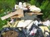 Навал строительного мусора возле дороги недалеко от Новоархангельского!
