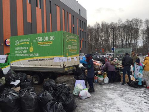 Почти 700 кг вторсырья собрали в Единый день раздельного сбора в Красногорске!